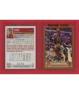 2003-04 Topps Chrome #111 LeBron James GOLD #23/50 ROOKIE REPRINT card - $7.00