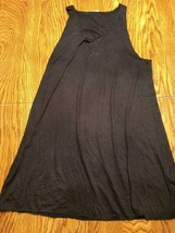 Miken Swim Black Beach Cover Up Size Small image 2