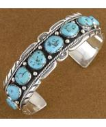 Native American Sleeping Beauty Turquoise Sterl... - $388.07