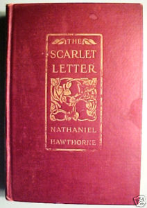THE SCARLET LETTER BY NATHANIEL HAWTHORNE,1929 CLASSIC