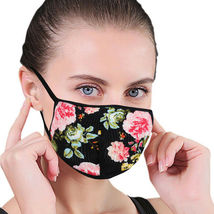 Women's Floral Reusable Face Cover Cloth Protection Mask Handmade USA Lot of 6 image 4