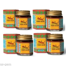 4 x 30g Tiger Balm Red Warming Rub - Soothing Relief for Aches & Pains - $27.95
