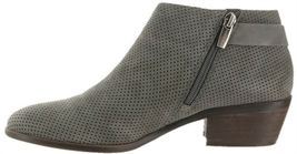 Vince Camuto Suede Booties Buckle Parveen Greystone 5.5M NEW A311049 image 3