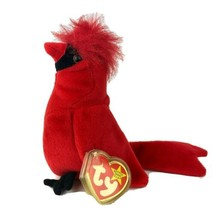 Rare Beanie Baby Red Bird Mac 4 Errors Misspelled Tag And Tush Tag Error... - $46.75