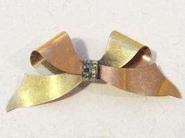 Vintage Gold Filled rhinestone Taylord Pin/brooch - $35.00