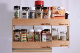 Upperslide Cabinet Caddies Spice Rack Starter/Expansion Pack #2 (US 303S... - £85.26 GBP