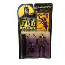 1994 Kenner Legends Of Batman Catwoman w/ Quick Climb Claw & Net New Vintage - $13.49