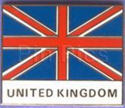 Disney United Kingdom Showcase Cast M flag pin/pins - $65.79