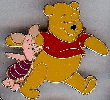Disney Pals Winnie The Pooh & Piglet pin/pins
