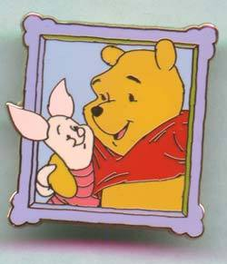 Disney Winnie the Pooh and Piglet Pin/Pins