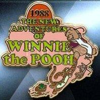 Disney New Adventures of Winnie the Pooh 1988 Pin/Pins