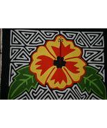 Amazing Maze Detailed Kuna Mola Handmade Appliq... - $49.49