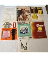 Teach Yourself to Play Guitar Book Lot Standard Guitar Method Instructio... - $46.99