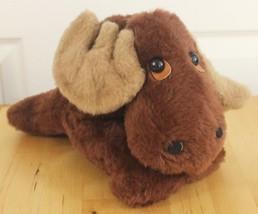 VTG 1979 Animal Fair Brown Moose Plush Stuffed Animal Toy w/Tag - $49.95