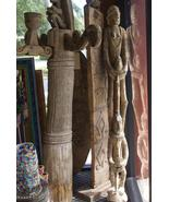 Asmat Old Handcarved Totem Pole Headhunting Rit... - $1,979.99