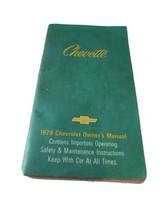 1979 Chevette Owner's Manual NOS Chevrolet Complete EUC - $11.41
