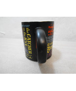Banned Books Black Coffee Tea Mug Cup 12 oz Unemployed Philosophers Guil... - $33.81