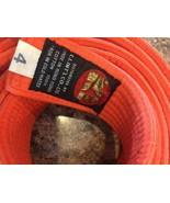 MARTIAL ARTS BELT Orange Size 4 KI International Karate - $8.86