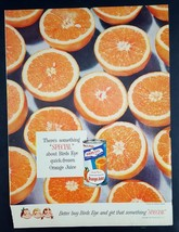 1954 Birds Eye Orange Juice Vintage Magazine Print Ad - $8.90