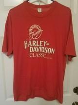 Vintage Harley Davidson Classic Original Formula T Shirt Size XL Made in... - $14.55