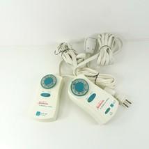 Sunbeam Dual Control Electric Blanket with A Brain Control 84KQA 613A IQ3 - $25.19