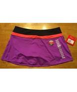 NWT Fila Women's Purple & Black Skort (Short & Skirt Combo) - Size: XXL - $14.01