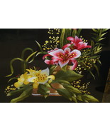 English Bouquet Hand stitched Hmong Masterpiece... - $494.99