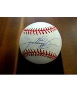 SAMMY SOSA CHICAGO CUBS 609 HOME RUNS SIGNED AUTO OML BASEBALL JSA AUTHE... - $197.99