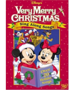 Very Merry Christmas Sing Along Songs Disney DVD NEW - $14.07