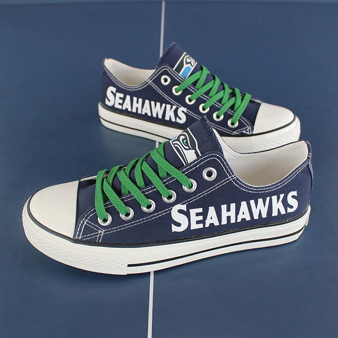 86cb345789c167 Seahawks shoes women seahawks sneakers converse style tennis shoe seattle  fans