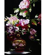 Hmong Floral Bouquet Silk Embroidery Original M... - $692.99