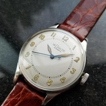 Men's LeCoultre Vintage cal.12A Automatic Field Watch, c.1950s Swiss LV8... - $2,842.00