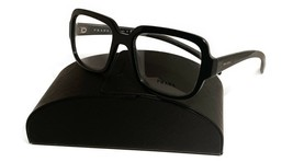 Prada Women's Black Oversized Glasses with case VPR 15R 1AB-1O1 53mm - $209.99