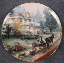 Carriage Ride Home Thomas Kinkade Home is Where the Heart Is Collector P... - $19.95