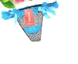 Buy3 PcsWomenSexyThongG-string LingerieFront Bows DetailsMulticolor-Patt... - $5.94