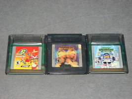 Nintendo Game Boy Color: 3 Game Lot - Mary-Kate + Rocket Power + Dexters... - $10.00