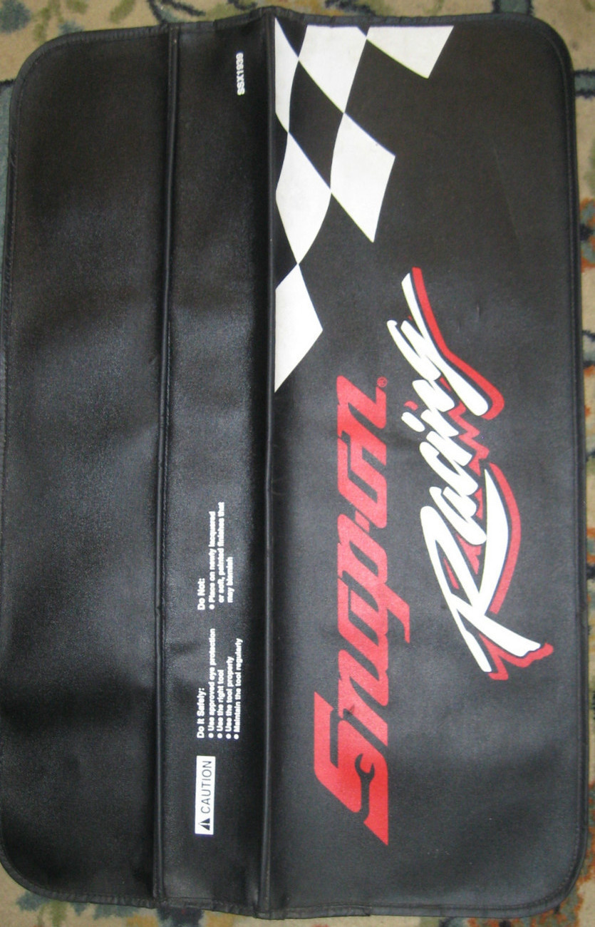 Snap-On Tools Snap-On Racing Auto Mechanic Tool Fender Bumper Pad Guard #SSX1939