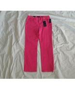 Charter Club Women's Straight Leg Lexington Denim Pink Candy Jeans Size 16 - $34.60