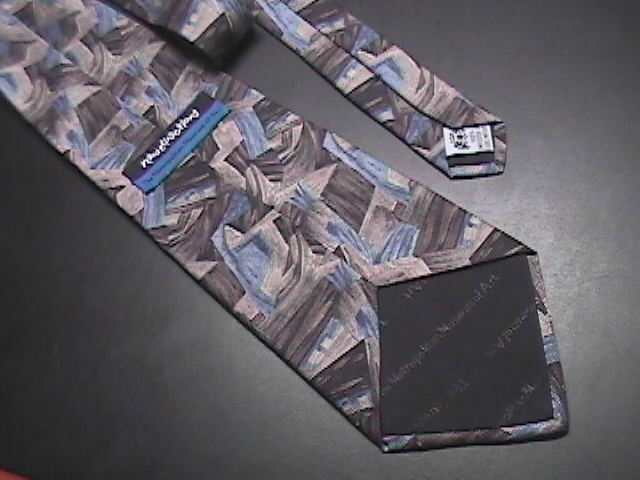Metropolitan Museum Of Art New Directions Neck Tie Abstractions Blues and Grays