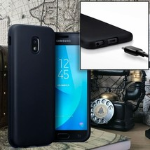 Samsung Galaxy J3 2017 Version Case   Precision Moulded Cover High Density Black - $9.64