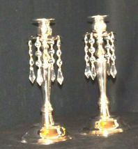 Milkasa Candle Stick Holders in blue box  AA19-1582 Vintage Pair image 7