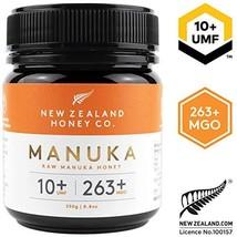Zealand Honey Co. Raw Manuka Honey UMF 10+ | MGO 263+, 8.8oz / 250g - $27.36