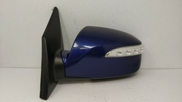 2010-2016 Hyundai Tucson Driver Left Side View Power Door Mirror Blue 74674 - $104.21