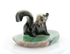 Hagen Renaker Miniature Skunk Baby on Base Stepping Stones Figurine #2739 image 8