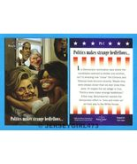 Obama - Clinton 2008 Democratic Presidential Bench Warmer Card #PS-2 - $15.00