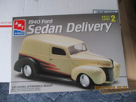AMT 1940 Ford Sedan Delivery 1/25 scale - $28.99
