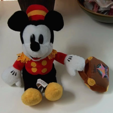 Disney Mickey Bellhop Plush All Star Music Resort
