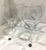 Set of 4 Lenox Crystal Silhouette Gold Iced Tea Goblets (2 Sets Available) - $118.75