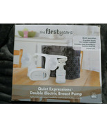 The First Years Quiet Expressions Double Electric Breast Pump New in Dis... - $34.60