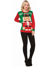 Forum Men's Ugly Christmas Sweater, Nut Buster, red/Green, Medium - $51.53